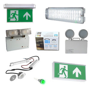 various emergency Lights